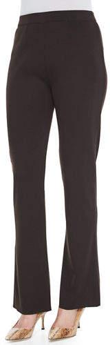 Misook Boot-Cut Knit Pants