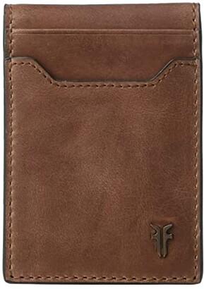 Frye Holden Folded Card Case (Whiskey) Bags