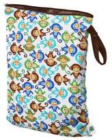 Bed Bath & Beyond Planet Wise Large Wet Bag in Monkey Fun