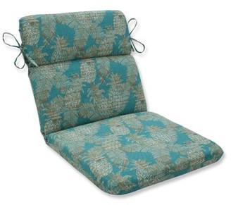 Bay Isle Home Emeline Batik Indoor/Outdoor Lounge Chair Cushion Fabric: Lagoon