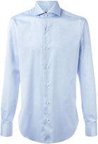 Barba pleated cuffs shirt - men - Cotton - 42
