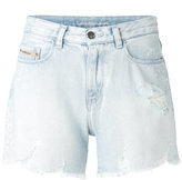 Calvin Klein Jeans light-wash denim shorts - women - Cotton - 25