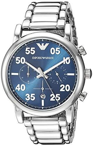 Emporio Armani Men's 'Chronograph' Quartz Stainless Steel Casual Watch