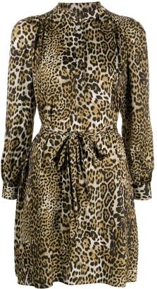 Zadig & Voltaire Retouched leopard-print mini dress