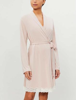 Eberjey Lady Godiva classic jersey robe