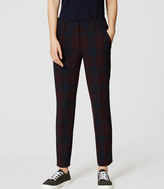LOFT Tall Plaid Essential Skinny Ankle Pants in Julie Fit