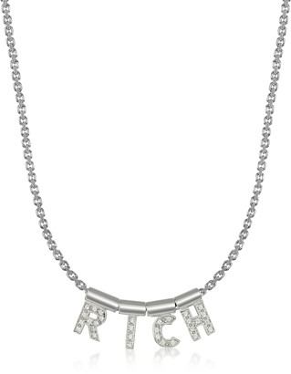 Nomination Sterling Silver and Swarovski Zirconia Rich Necklace