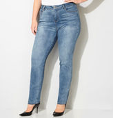 Avenue Slimming Solutions Skinny Jean with Tummy Control (Med Wash)