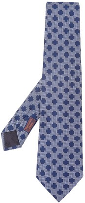 Hermes 2000s Pre-Owned Geometric-Pattern Tie