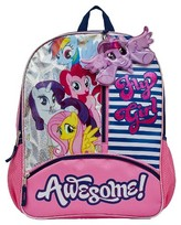My Little Pony Hasbro 16 Awesome Fly Girl Kids' Backpack - Pink