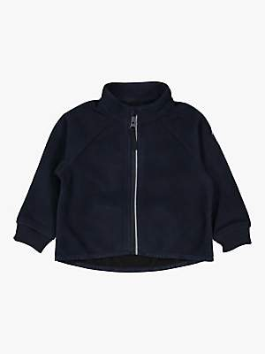 Polarn O. Pyret Baby Fleece Jacket, Dark Sapphire