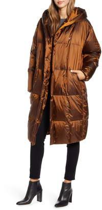 SOSKEN Janis Irridiscent Water Resistant Down Puffer Coat