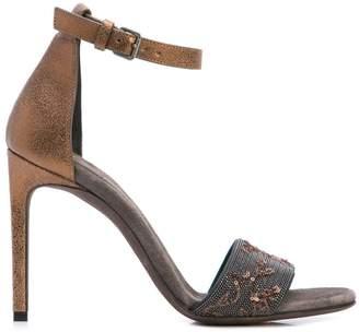 Brunello Cucinelli Ankle Strap Sandals
