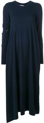 Barrie long sleeve knitted dress