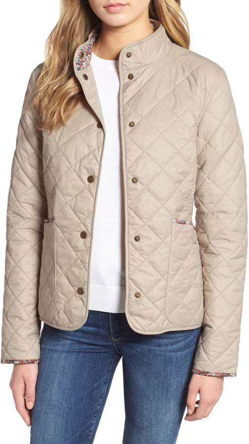 Barbour x Liberty Evelyn Quilted Jacket