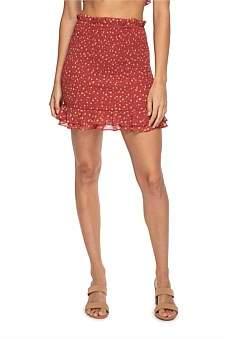 Lulu & Rose Suri Shirred Skirt