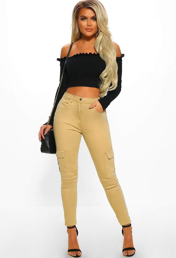 d5f5990852a7d Pink High Waisted Skinny Jeans - ShopStyle UK