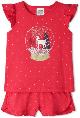 Milkshake Xmas Snow Globe Pyjama