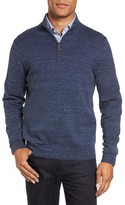 Nordstrom Men's Big & Tall Quarter Zip Sweater