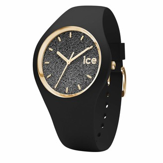 Ice Watch Ice-Watch - ICE glitter Black - Women's wristwatch with silicon strap - 001349 (Small)