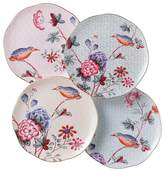 "Wedgwood Cuckoo"" Tea Story Tea Plates, Set of 4"