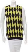 Prada Patterned Wool Sweater