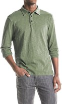 True Grit Modern Slub Polo Shirt - Long Sleeve (For Men)