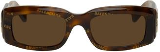 Balenciaga Tortoiseshell Paris Fashion Show Sunglasses