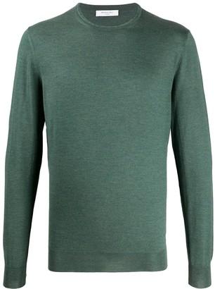 Boglioli Knitted Long Sleeve Jumper