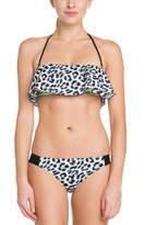Hurley Aussie Black Print Bikini Bottom