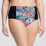 Women's Plus Size Swim Bottom Coral - Costa del Sol