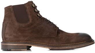Lloyd Hammond vintage-style ankle boots
