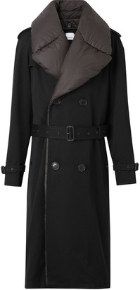 Burberry Detachable Collar Trench Coat