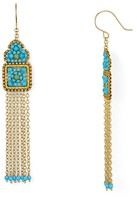Miguel Ases Fringe Chandelier Earrings