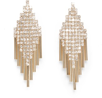 Vince Camuto Deco Fringe Earrings