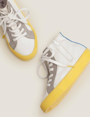 Contrast Canvas High Tops