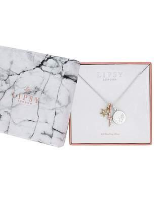 Lipsy Sterling Silver 925 Charm Pendant
