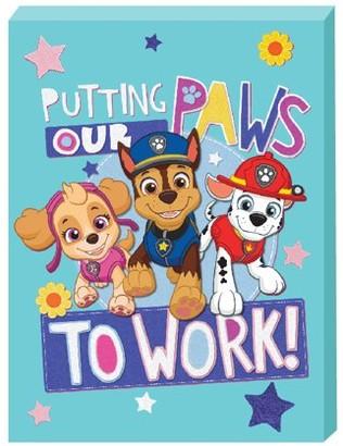 "Nickelodeon , ""Paw Patrol"" Satin Wall Art"