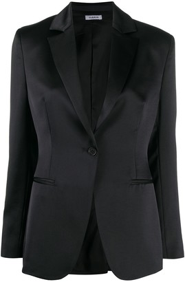 P.A.R.O.S.H. Notched Lapel Single-Breasted Blazer