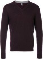 Eleventy V neck sweatshirt - men - Virgin Wool - M