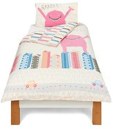 George Home City Monster Pink Duvet Cover - Single