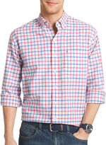 Izod Long-Sleeve Oxford Button-Front Shirt