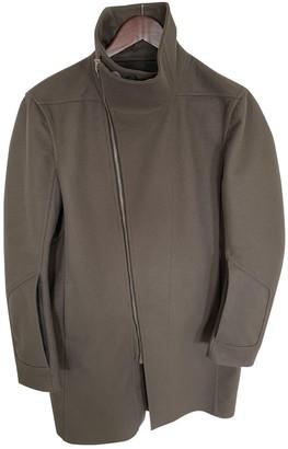 Rick Owens Grey Wool Coats