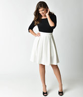 High Waisted Pleated Skirt - ShopStyle