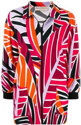 Emilio Pucci Sal print zip up jacket