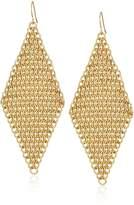 ABS by Allen Schwartz Mesh Drop Earrings