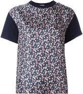 Moncler printed panel T-shirt