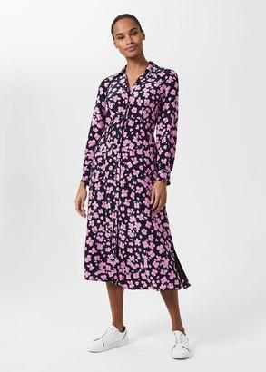 Hobbs Lulu Floral Midi Dress