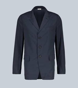 Dries Van Noten Single-breasted cotton blazer