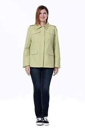 The Plus Project Ladies Nylon Twill Jacket